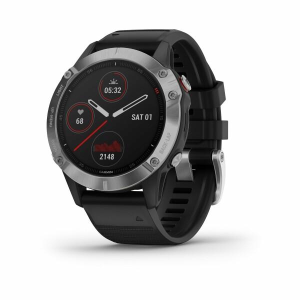 Montre connectée Garmin fenix 6 avec bracelet noir