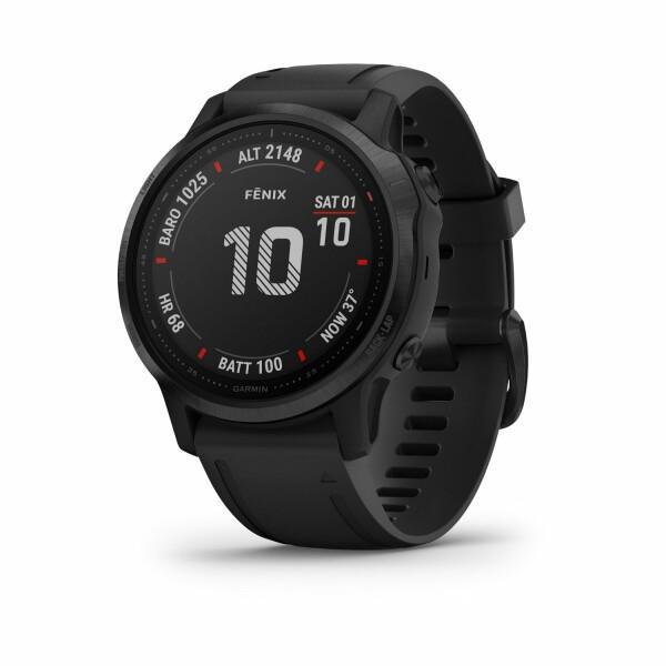 Montre connectée Garmin fenix 6S Pro avec bracelet noir