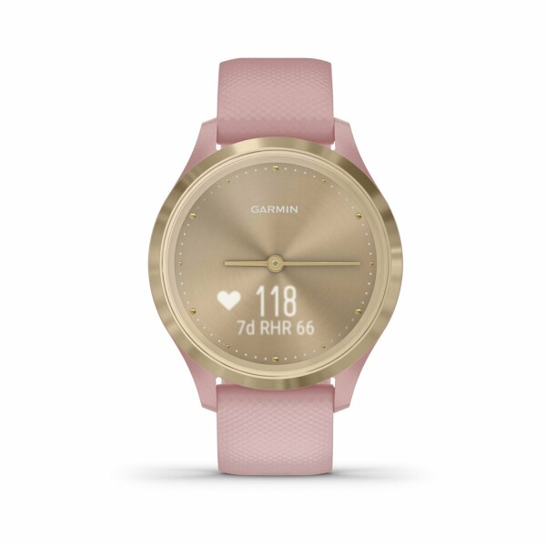 Montre Garmin vívomove 3S Light Gold/Silicone Dust Rose
