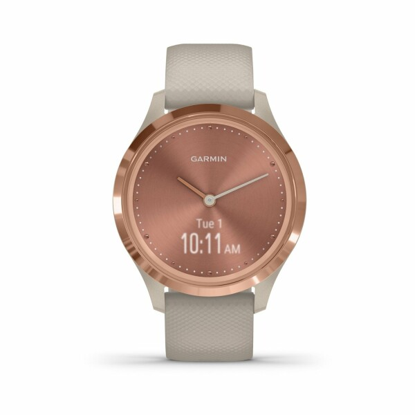 Montre Garmin vívomove 3S Rose Gold/Silicone Light Sand