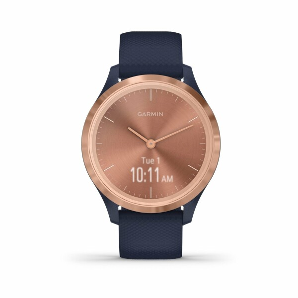 Montre Garmin vívomove 3S Rose Gold/Silicone Navy