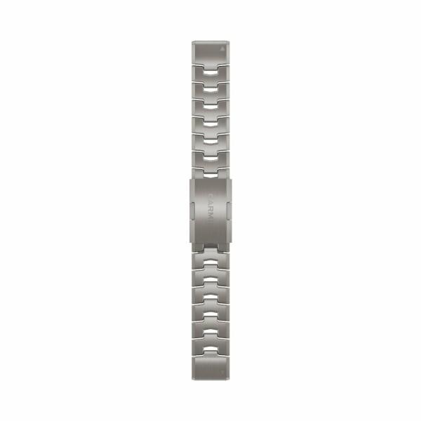 Bracelet de montre Garmin Quickfit 22 en titane
