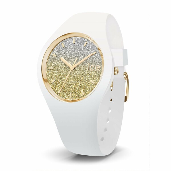 Montre Ice-Watch ICE lo - White gold - Medium - 3H