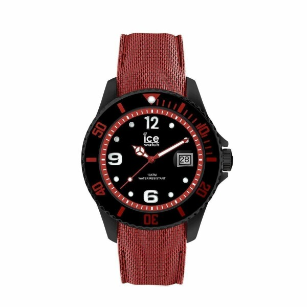 Montre Ice-Watch Ice Steel Black red