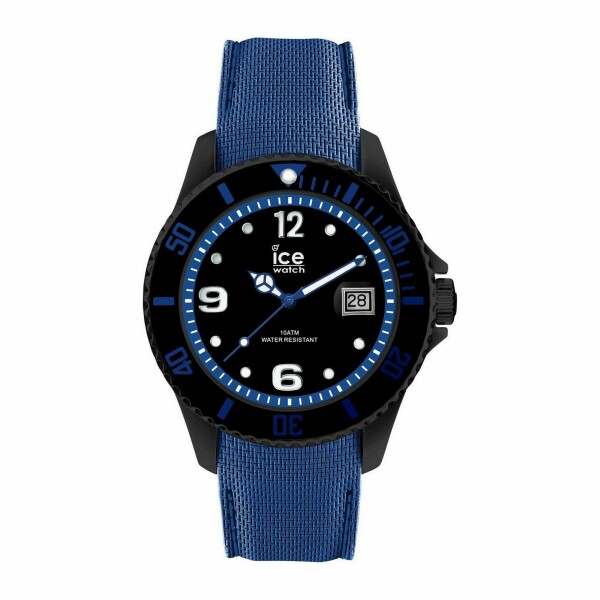 Montre Ice-Watch ICE steel - Black blue - Large - 3H
