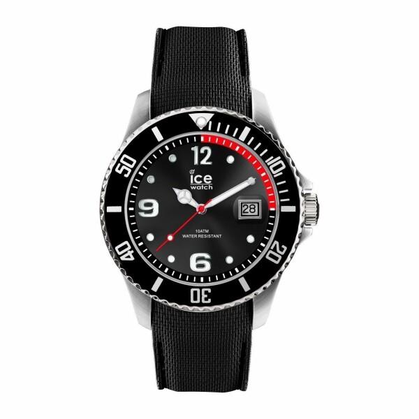 Montre Ice-Watch ICE steel - Black - Medium - 3H