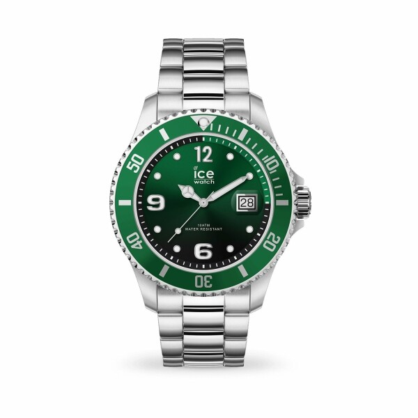 Montre Ice-Watch ICE Steel Green Silver Medium