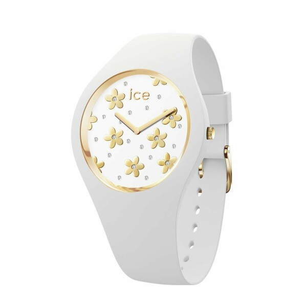 Montre Ice-Watch Ice Flower Precious white
