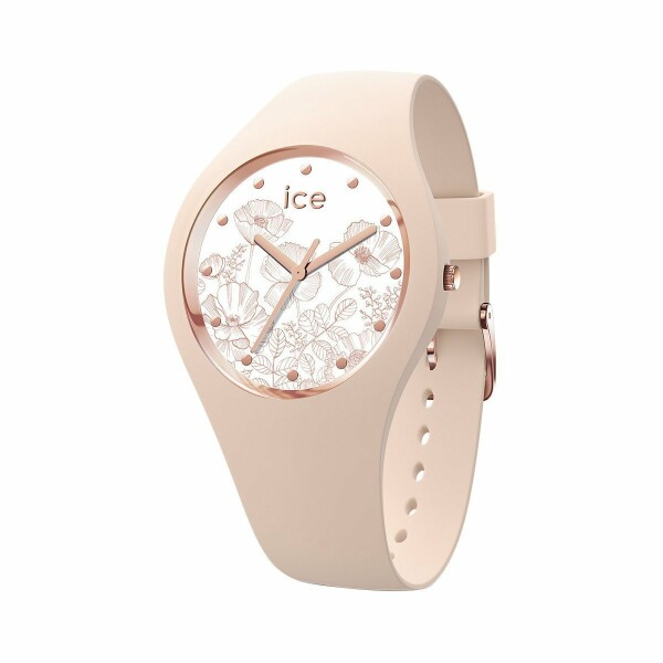Montre Ice-Watch Ice Flower - Spring Nude - Small - 3H