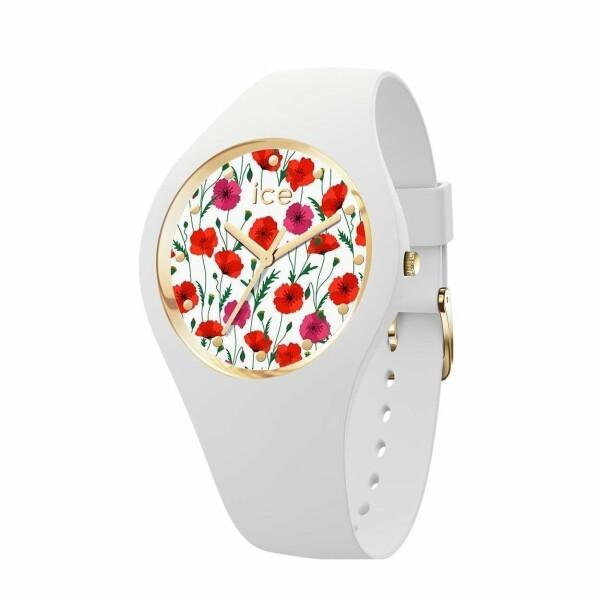 Montre Ice-Watch Ice Flower White poppy