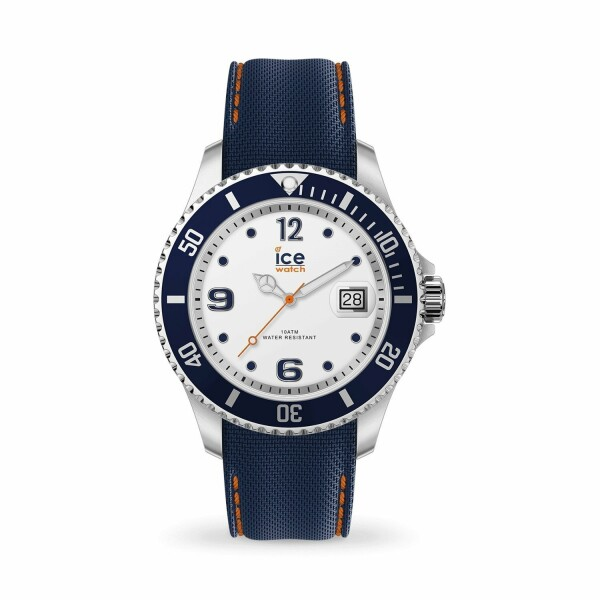 Montre Ice-Watch ICE Steel White blue - Medium