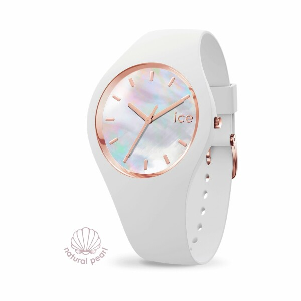 Montre Ice-Watch ICE pearl - White - Small - 3H