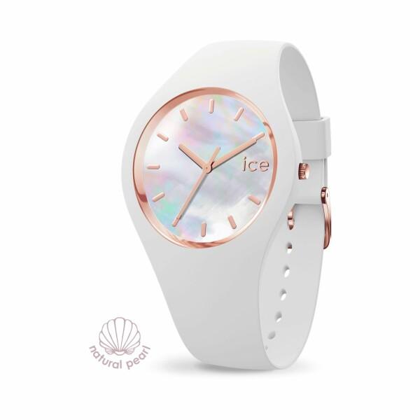 Montre Ice-Watch ICE pearl - White - Medium - 3H