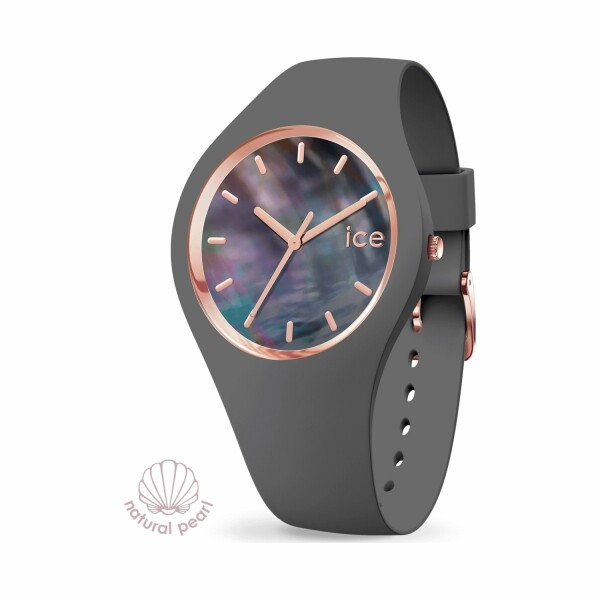 Montre Ice-Watch ICE pearl - Grey - Small - 3H
