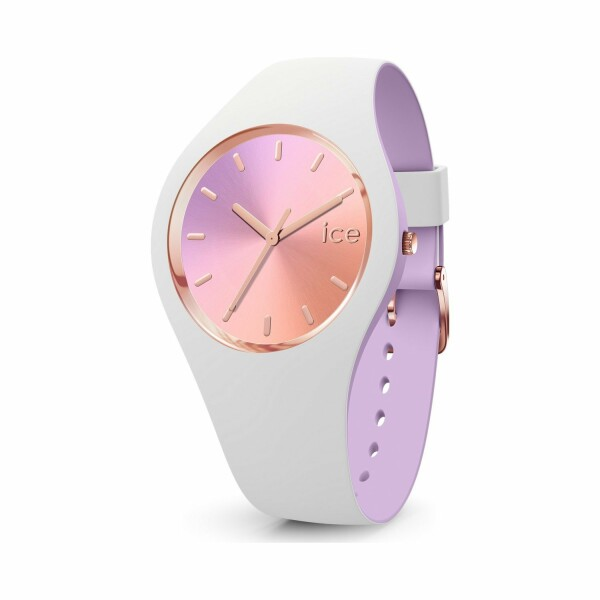 Montre Ice-Watch ICE duo chic - White orchid - Small - 3H
