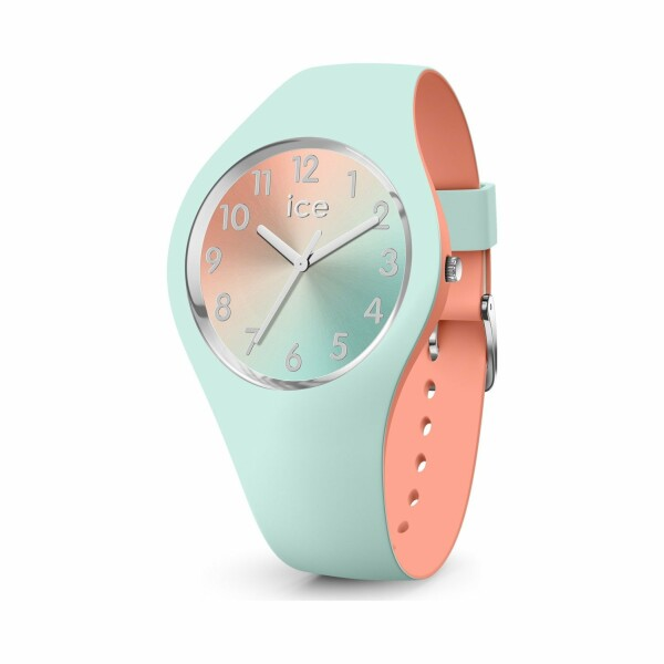 Montre Ice-Watch ICE duo chic - Aqua coral - Small - 3H