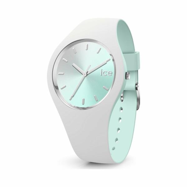 Montre Ice-Watch ICE duo chic - White aqua - Medium - 3H