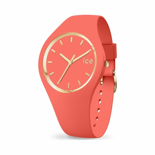 Montre Ice-Watch ICE glam colour - Coral - Medium - 3H