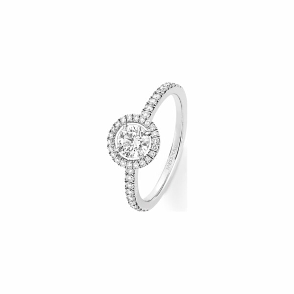 Bague Messika Joy en or blanc et diamants