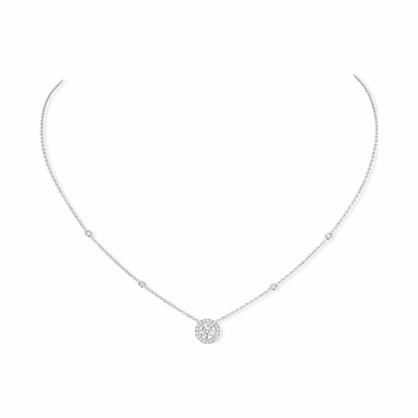 Collier Messika Joy en or blanc et diamants