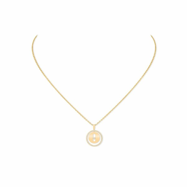 Collier Messika Lucky Move PM en or jaune et diamants