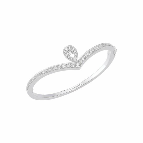 Bracelet Chaumet Joséphine Aigrette en or blanc et diamants