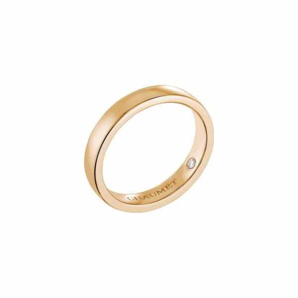 Alliance Chaumet Les Eternelles de Chaumet Rubans en or rose et diamant