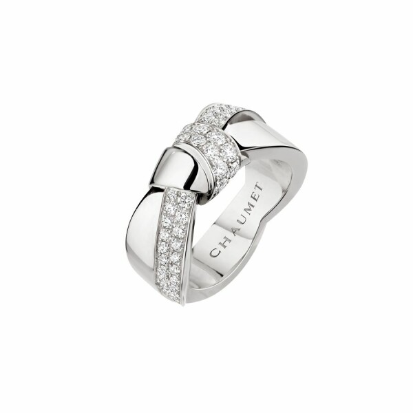 Bague Chaumet Liens Séduction en or blanc et diamants