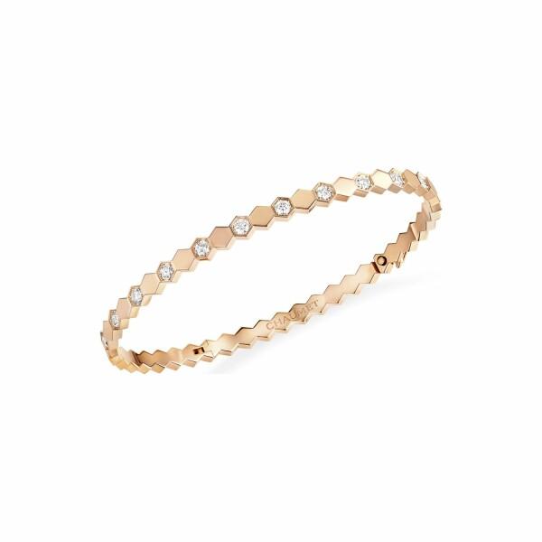 Bracelet Chaumet Bee my love en or rose et diamants