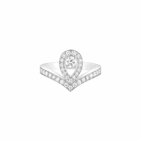 Bague Chaumet Joséphine Aigrette en or blanc et diamants