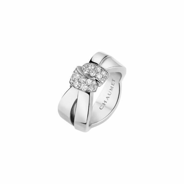 Bague Chaumet Liens Séduction en or blanc et diamants