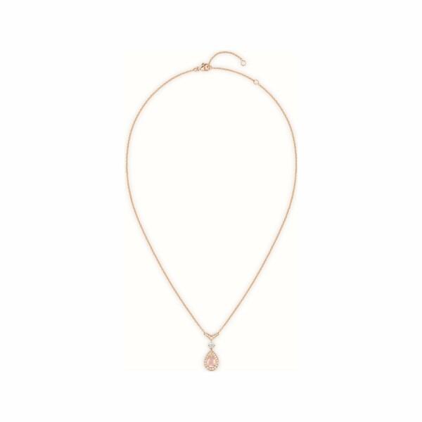 Pendentif Chaumet Joséphine Aigrette en or rose et diamants