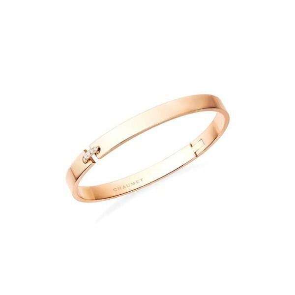 Bracelet Chaumet Liens Évidence en or rose et diamants