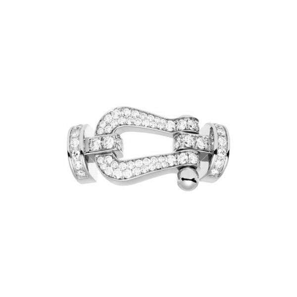 Manille FRED Force 10 en or blanc et diamants