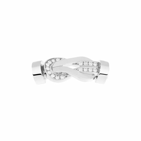 Manille FRED 8°0 en or blanc et diamants