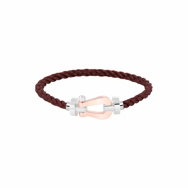 Bracelet FRED Force 10 en or blanc et or rose