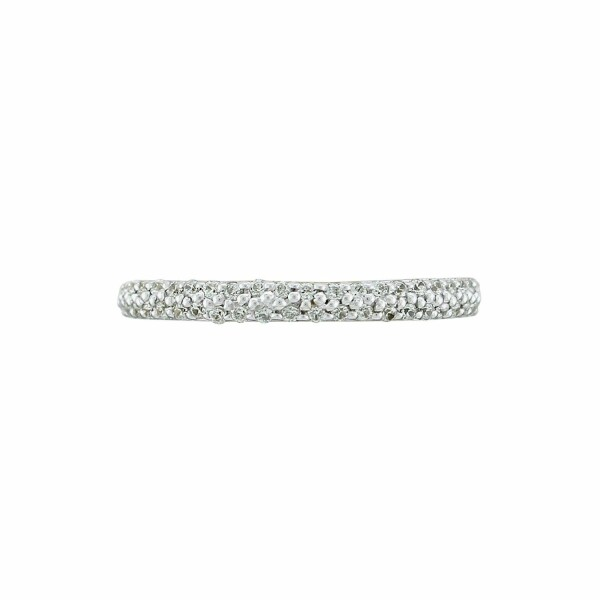 Bague en or blanc et diamants de 0.20ct