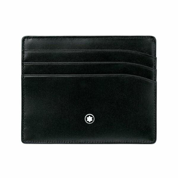 Porte-cartes Montblanc Meisterstück en cuir noir