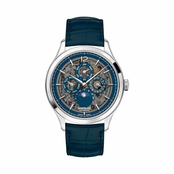 Montre Montblanc Heritage Chronométrie Perpetual Calendar Sapphire