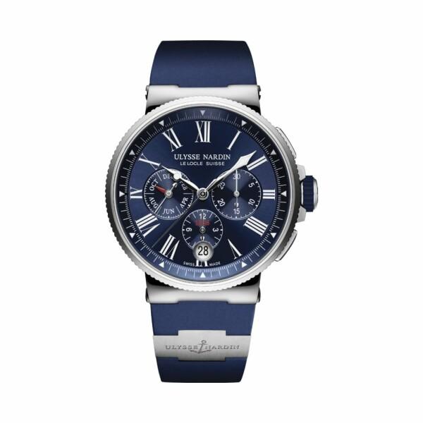 Montre Ulysse Nardin Marine Chronograph 43mm