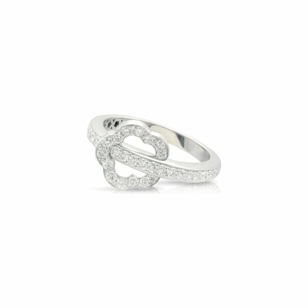 Bague Pasquale Bruni Make Love en or blanc et diamants blancs