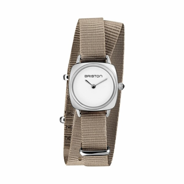 Montre Briston Clubmaster Lady Acier