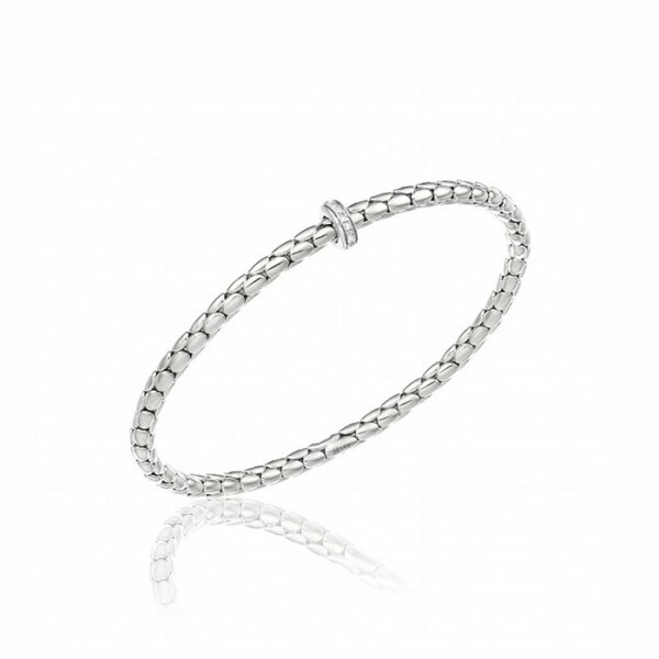 Bracelet CHIMENTO Stretch Spring en or blanc et diamants