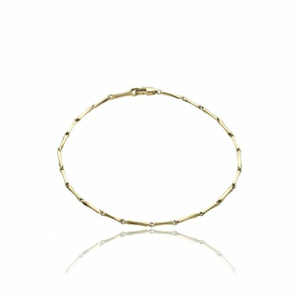 Bracelet CHIMENTO Tradition Gold Bamboo classic en or jaune