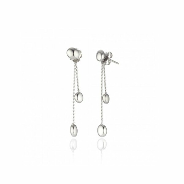 Boucles d'oreilles CHIMENTO Armillas Acqua en or blanc