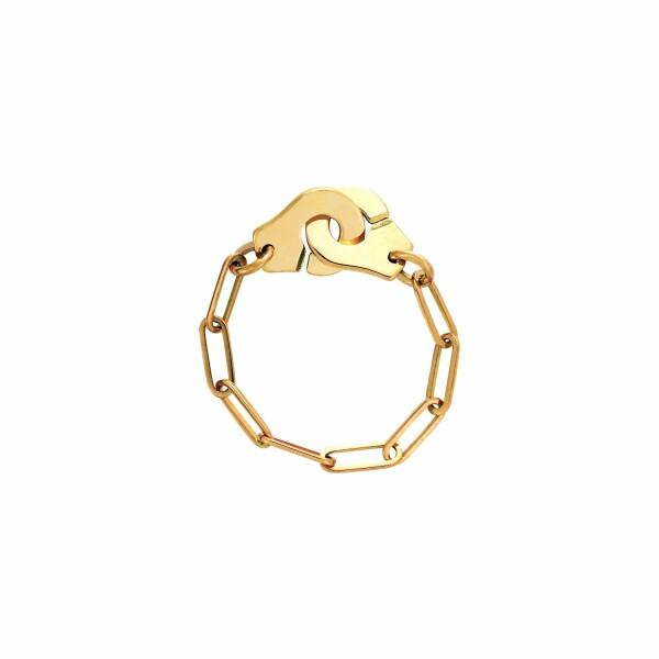 Bague chaîne dinh van Menottes dinh van en or jaune R7