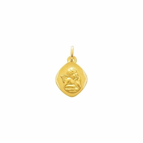 Médaille ange en or jaune