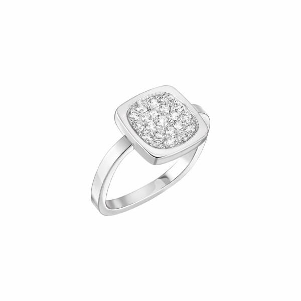 Bague dinh van Impression en or blanc et diamants