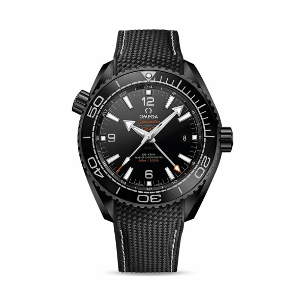 Montre Omega Seamaster Planet Ocean 600M Deep Black Co‑Axial Master Chronometer GMT 45.5mm