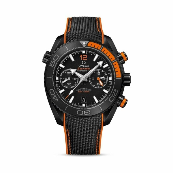 Montre Omega Seamaster Planet Ocean 600M Deep Black Chronographe Co‑Axial Master Chronometer 45.5mm
